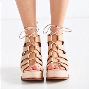 Jeffrey Campbell Platform Gladiator Sandals